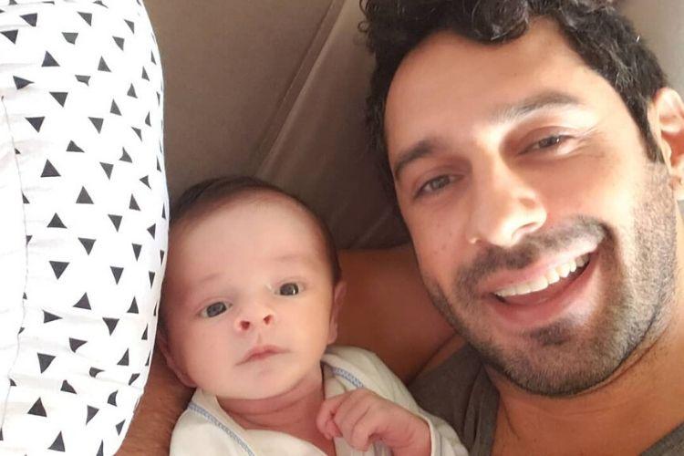 """""""Quero fazer o que meu pai não fez por mim"""", desabafa João Baldasserini sobre o filho"""