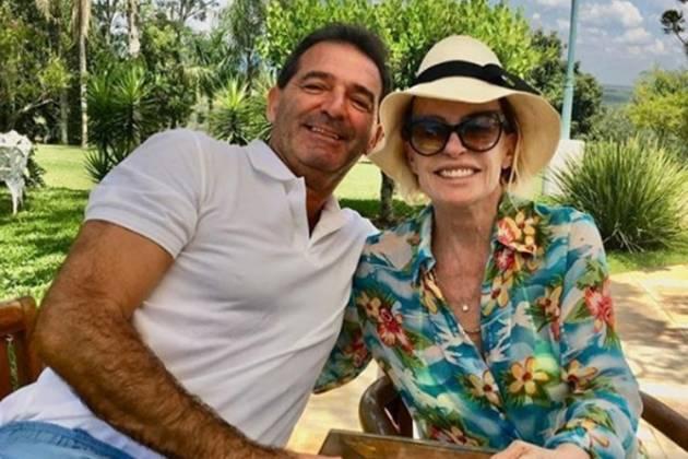 Johnny Lucet e Ana Maria Braga reprodução Instagram