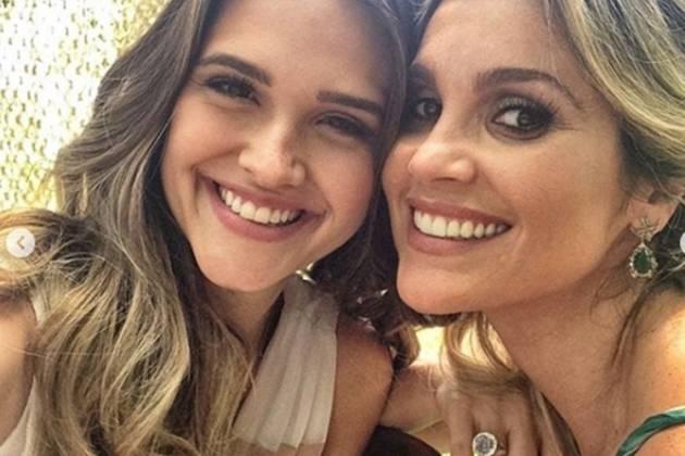 Juliana Paiva e Flávia Alessandra reprodução Instagram