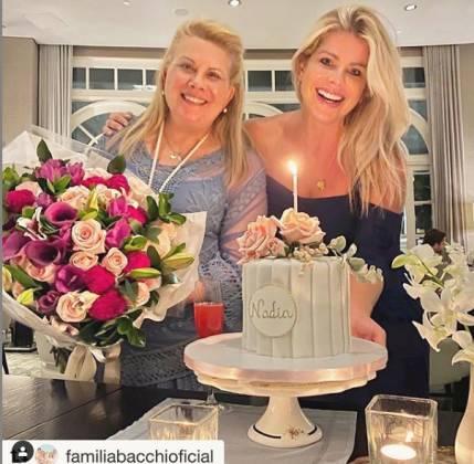Karina Bacchi e Nádia Bacchi reprodução Instagram 1