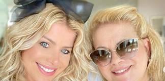 Karina Bacchi e Nádia Bacchi reprodução Instagram