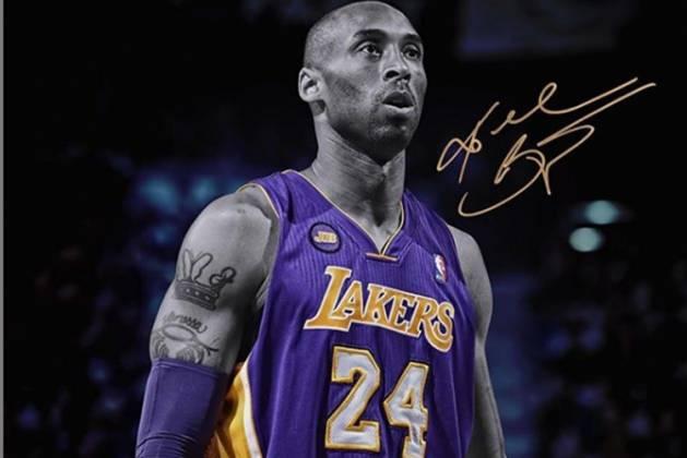 Kobe Bryant reprodução Instagram