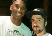 Kobe Byant e Marcos Mion reprodução Instagram