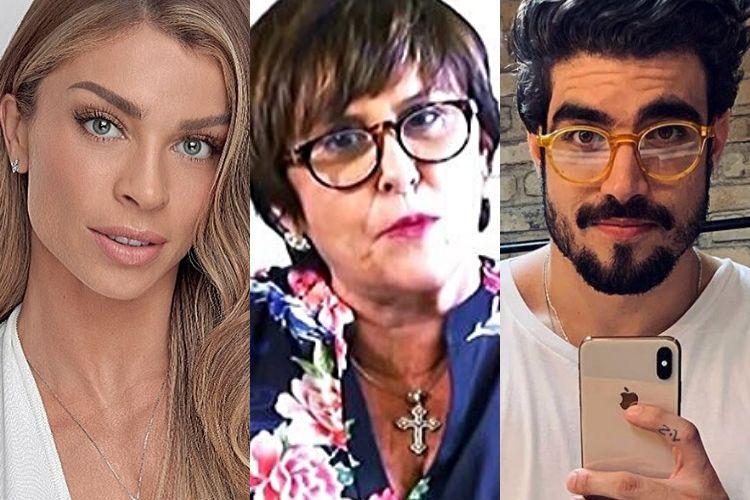 Márcia Sensitiva revela previsão trágica no relacionamento entre Grazi Massafera e Caio Castro