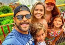 Marcos e família reprodução Instagram