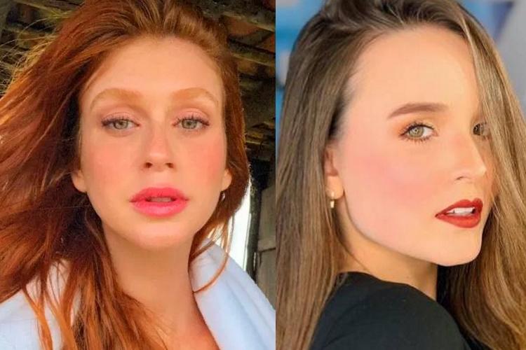 Marina Ruy Barbosa pode contracenar com Larissa Manoela em nova novela da Globo