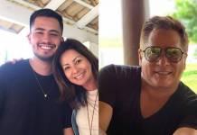 Matheus, Liz e Leonardo