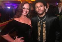 Neymar jr e Nadine Gonçalves reprodução instagram