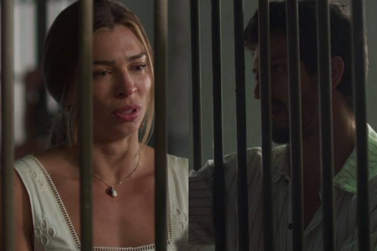 Bom Sucesso: Paloma e Marcos se encontram na prisão e reatam o namoro