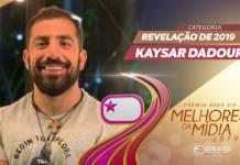 Prêmio Área VIP 2019 - Revelação do Ano - Kaysar Dadour