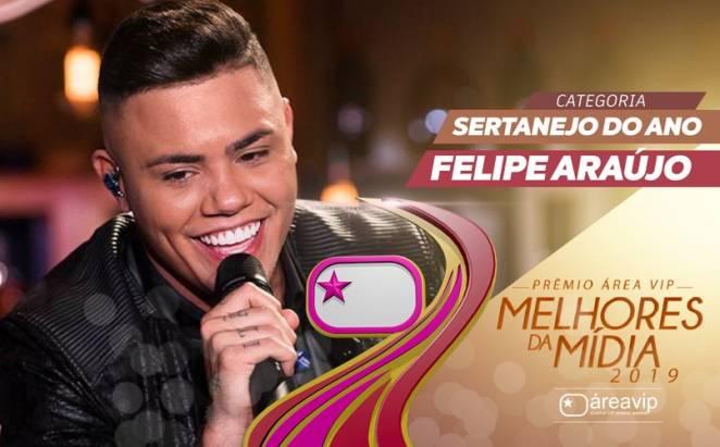 Prêmio Área VIP 2019 - Sertanejo do Ano - Felipe Araújo