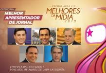 Prêmio Área VIP - Categoria Apresentador de Jornal de 2019