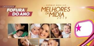 Prêmio Área VIP - Categoria Fofura do Ano de 2019