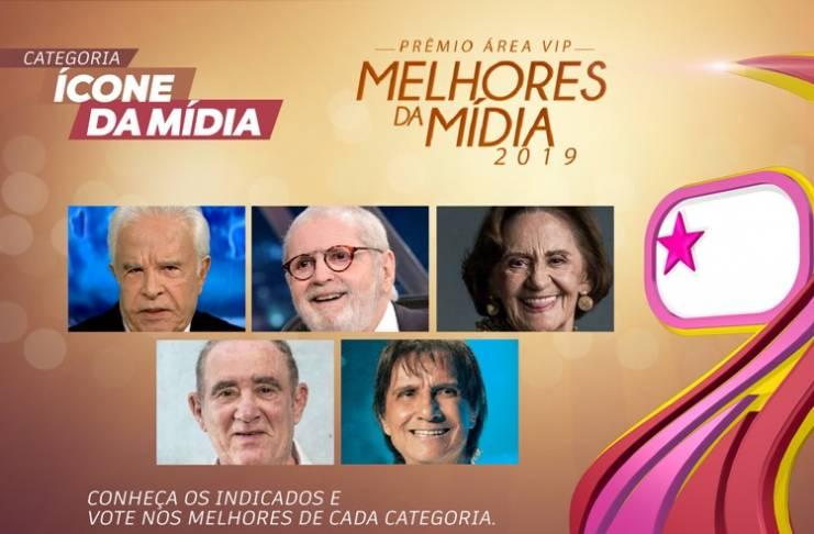 Prêmio Área VIP - Categoria Ícone da Mídia - 2019