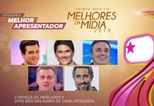 Prêmio Área VIP - Categoria Melhor Apresentador de 2019