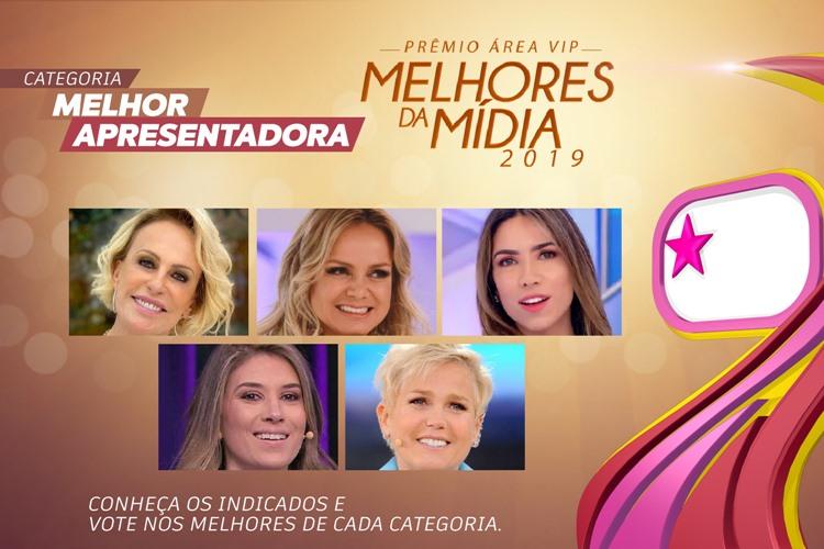 Prêmio Área VIP - Categoria Melhor Apresentadora de 2019