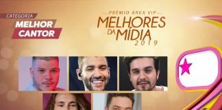 Prêmio Área VIP - Categoria Melhor Cantor de 2019