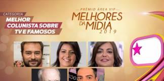 Prêmio Área VIP - Categoria Melhor Colunista de 2019