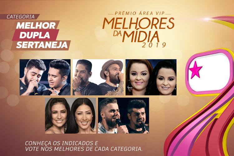 Prêmio Área VIP - Categoria Melhor Dupla Sertaneja de 2019