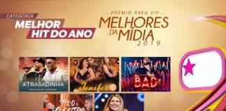Prêmio Área VIP - Categoria Melhor Hit do Ano de 2019
