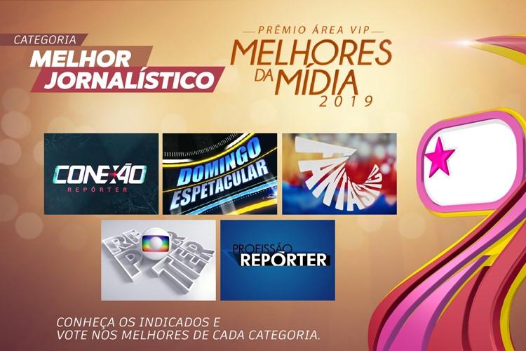 Prêmio Área VIP - Categoria Melhor Jornalístico de 2019