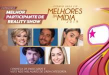 Prêmio Área VIP - Categoria Melhor Participante de Reality de 2019