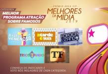 Prêmio Área VIP - Categoria Melhor Programa sobre Famosos de 2019