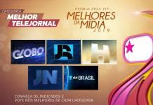 Prêmio Área VIP - Categoria Melhor Telejornal de 2019
