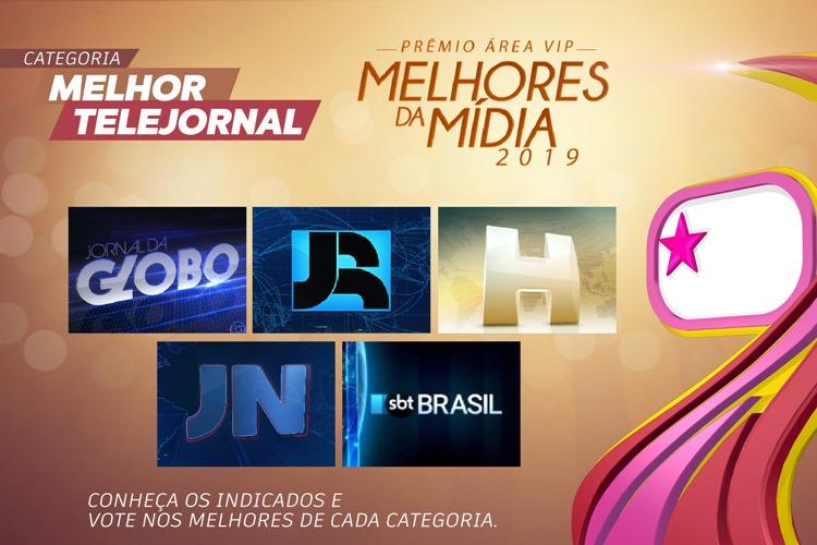 Qual foi o Melhor Telejornal de 2019? – Vote no Prêmio Área VIP!