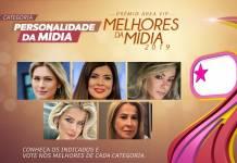 Prêmio Área VIP - Categoria Personalidade da Mídia de 2019