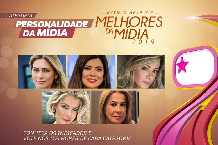 Qual foi a Personalidade da Mídia de 2019? – Vote no Prêmio Área VIP!
