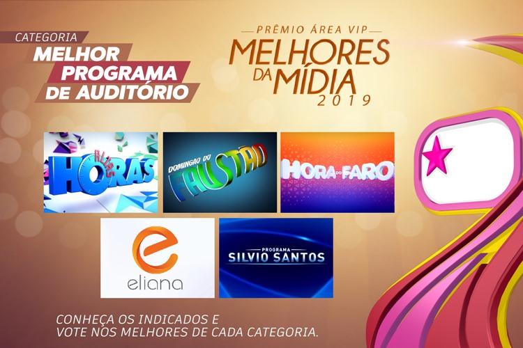 Prêmio Área VIP - Categoria Programa de Auditório de 2019