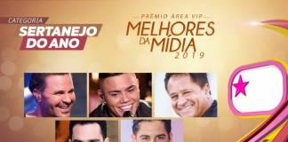 Prêmio Área VIP - Categoria Sertanejo do Ano de 2019