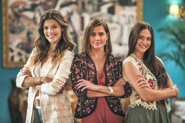 Salve se Quem Puder - Kyra - Alexia - Luna (Globo/Paulo Belote)