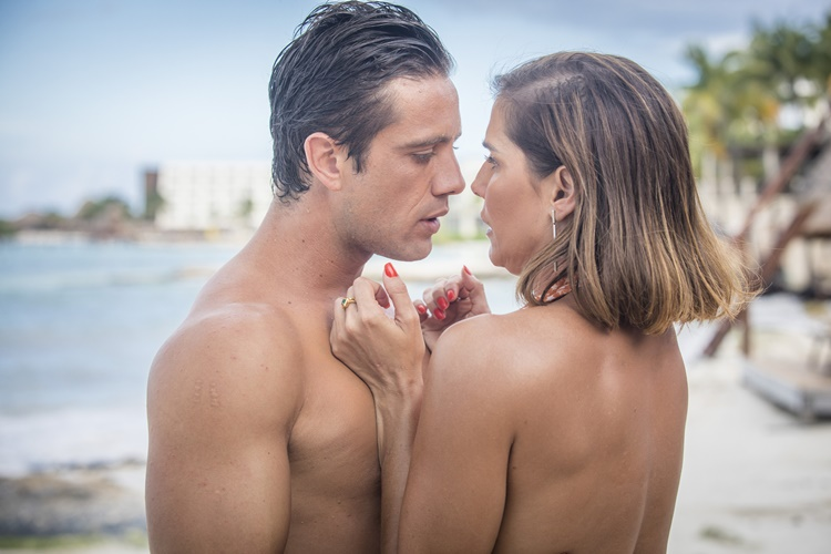 Salve se Quem Puder - O encontro de Alexia e Renzo (Globo/João Miguel Júnior)