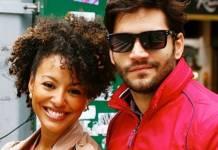 Sheron Menezzes e Armando Babaioff reprodução Instagram