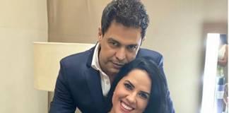 Zezé Di Camargo e Gracielle Lacerda reprodução Instagram