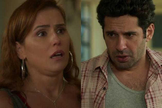 Alexia/Josimara (Deborah Secco) e Zezinho (João Baldasserini) - Foto: TV Globo
