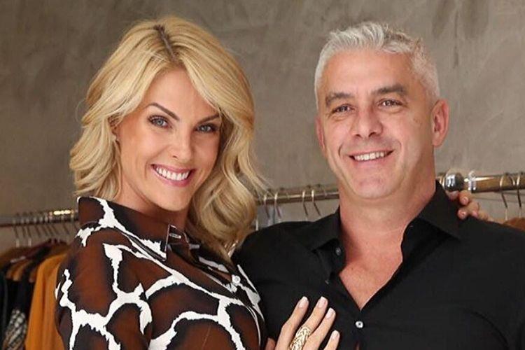Ana Hickmann se declara para o marido Alexandre Correa