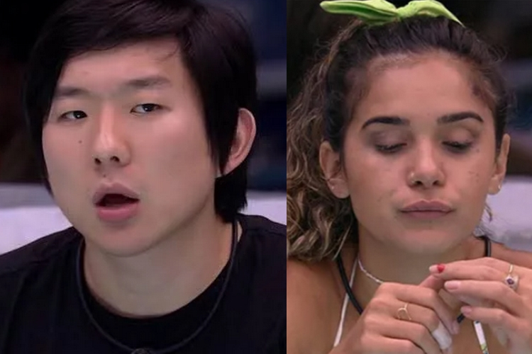 "BBB20: Pyong Lee se irrita com comportamento de Gizelly e dispara: ""Passa do ponto"""