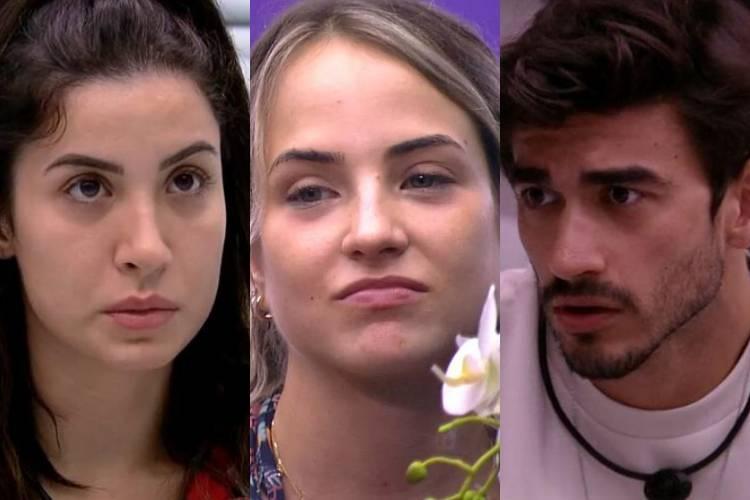 BBB20: Gabi questiona Guilherme e Bianca após festa