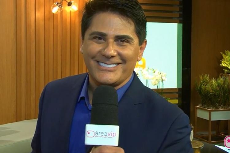 """Cesar Filho revela cumplicidade nos bastidores do """"Hoje em Dia"""", ao Área VIP"""