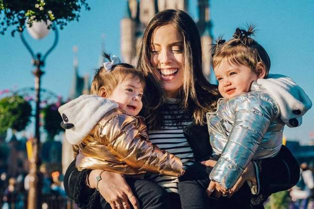 Chiara, Sienna e Fabiana Justus