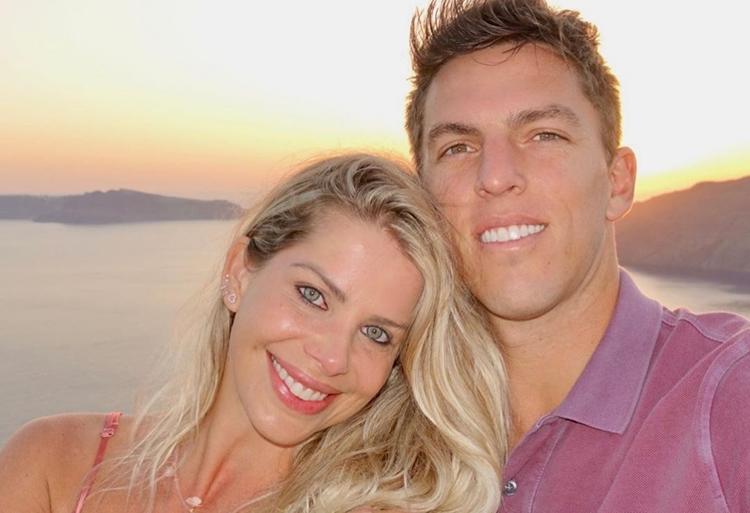 Karina Bacchi se declara para Amaury Nunes no 'Valentine's day'