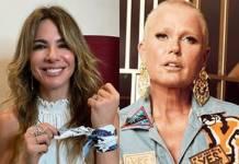 Luciana Gimenez e Xuxa Meneghel reprodução Instagram