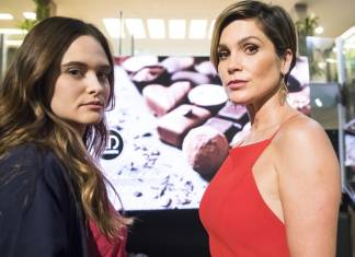 Juliana Paiva e Flávia Alessandra