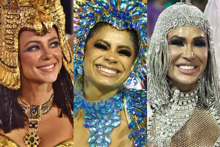 Confira clicks das famosas no Carnaval do Rio de Janeiro