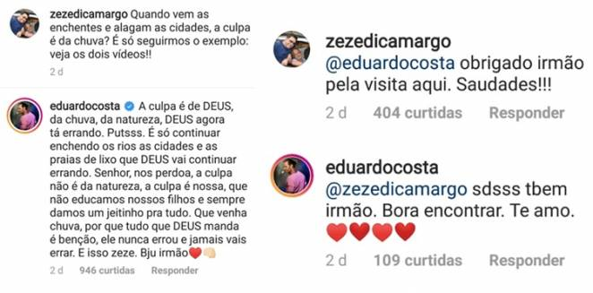 Post Zezé/Instagram