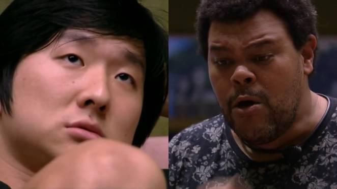 Pyong e Babu / Reprodução: Globoplay