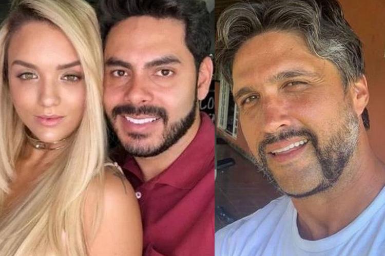 Ex-marido de Rafa Kalimann, sertanejo reage sobre romance com Leo Chaves